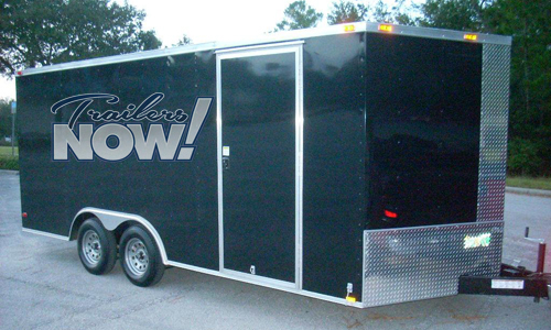 * Enclosed Trailers