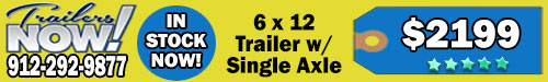 6x12-Enclosed-Cargo-Trailers-For-Sale-Single-Axle