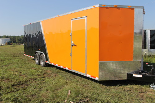 Diamond Cargo Custom Enclosed Cargo Trailers